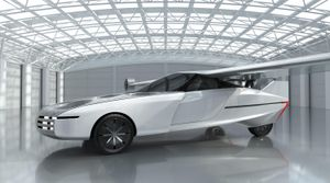 This is the Aska flying automotive that would whisk you to work in 2025