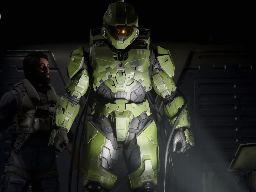 We got our very first take a look at the brand-new 'Halo' video game, and it'll be a launch title for the brand-new Xbox coming out in 2020 (MSFT)