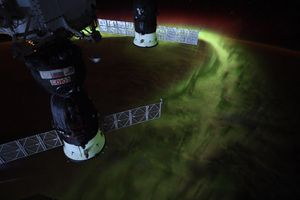 NASA astronaut shares impressive aurora image from ISS