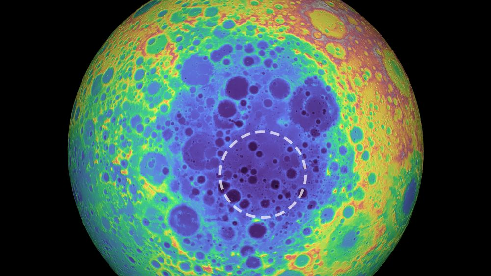 That Explains a Lot. The Moon's Largest Crater has a Chunk of Steel Embedded in it That's 5 Instances Larger than the Massive Island of Hawaii