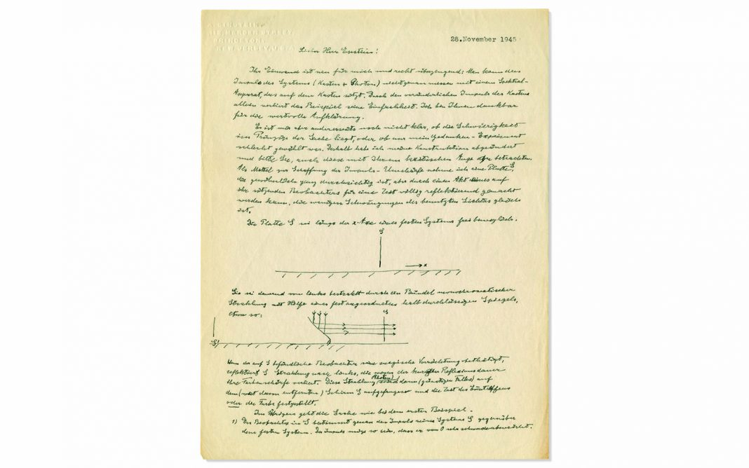 'God Plays Dice with deep space,' Einstein Composes in Letter About His Qualms with Quantum Theory