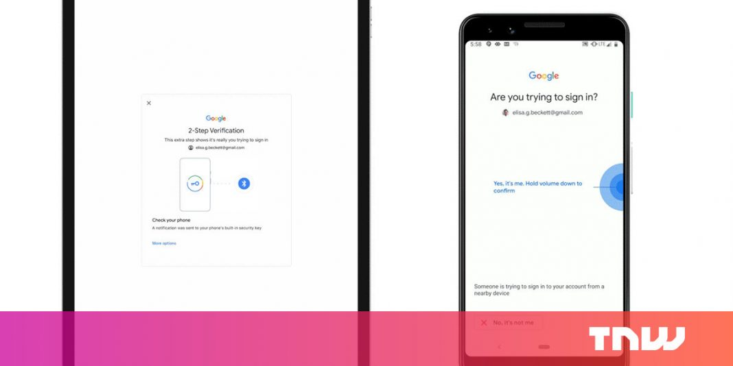 PSA: Your Android phone is now a security secret for finalizing in to Google on iOS