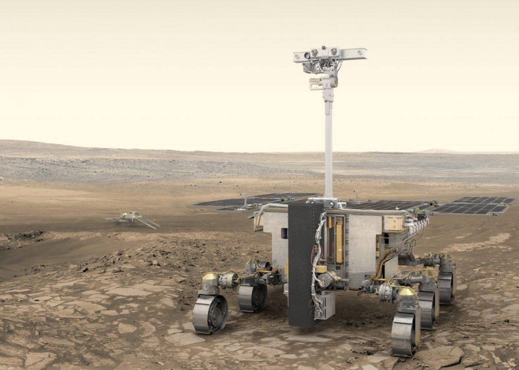 European Rover To Penetrate The '3rd Measurement' Of Mars
