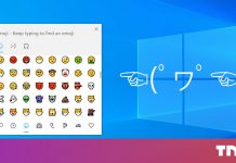 How to quickly type emoji, emoticons, and signs in Windows 10