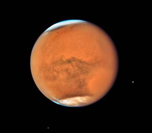 Mystical Mars clouds might be sustained by mashed meteors