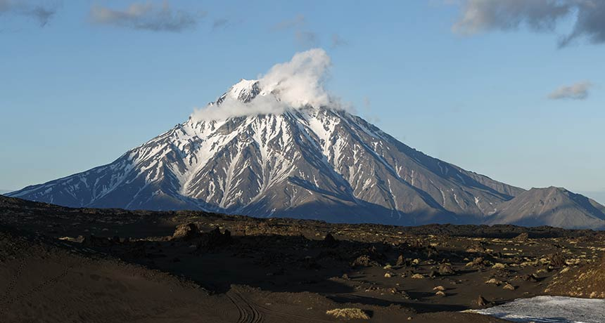 Is a long-dormant Russian volcano getting up? It's made complex