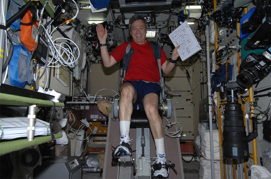 Originality to Decrease Muscle Loss Throughout Spaceflight