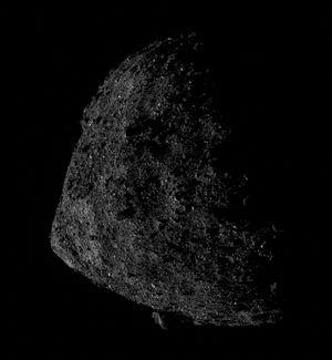 Daredevil NASA spacecraft snaps asteroid Bennu from crazy-close orbit