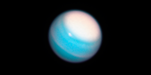 Uranus' evasive rings radiance in brand-new telescope heat view