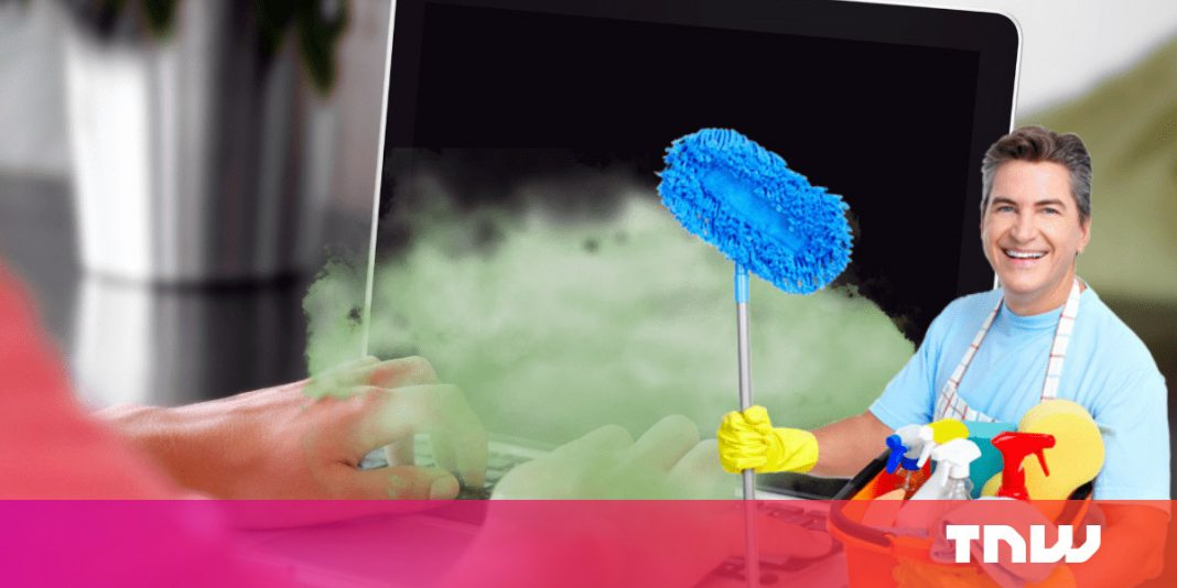 Ew, your laptop computer is disgusting — right here's methods to clear it