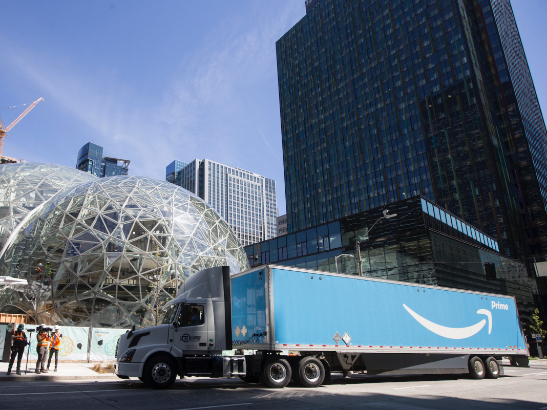 Truckers state Amazon's brand-new logistics empire is being underpinned by low, 'ludicrous' rates– and some are declining to work with them (AMZN)