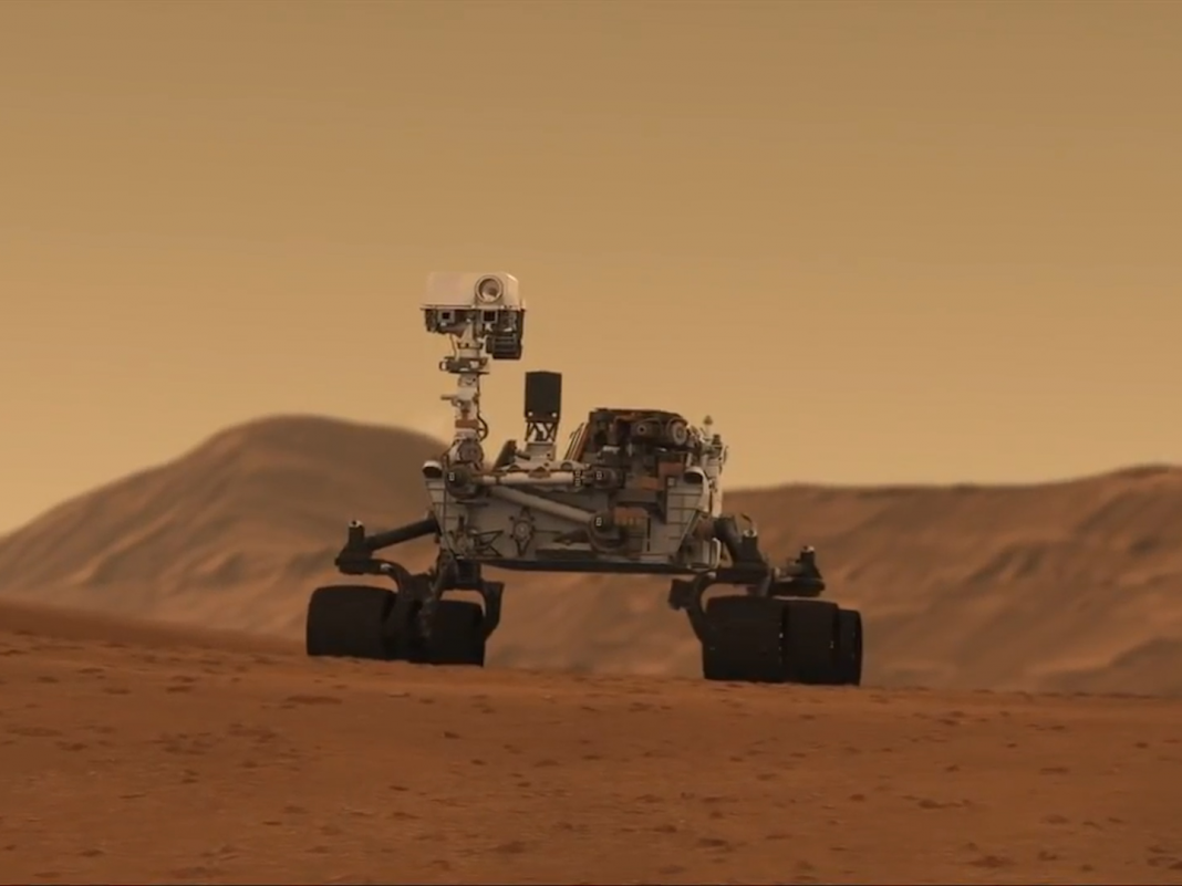 The Interest rover discovered a huge spike in methane that might indicate life on Mars