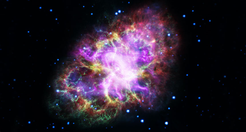 The highest-energy photons ever seen come from the Crab Nebula