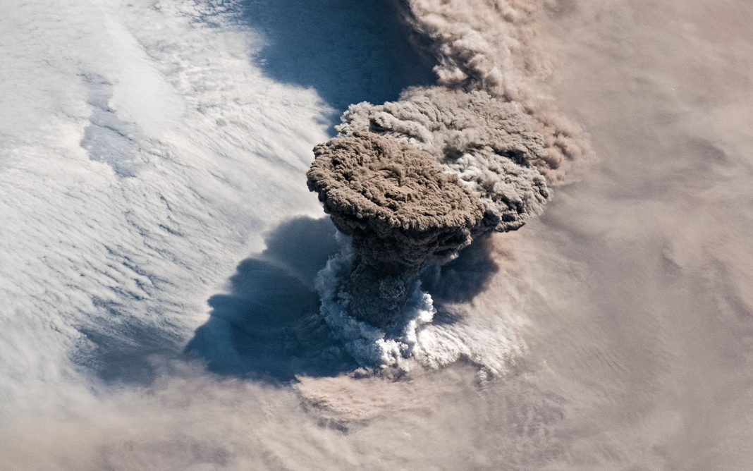 Volcano Simply Shot Out a Mushroom-Shaped Cloud So Huge It Might Be Seen from Orbit