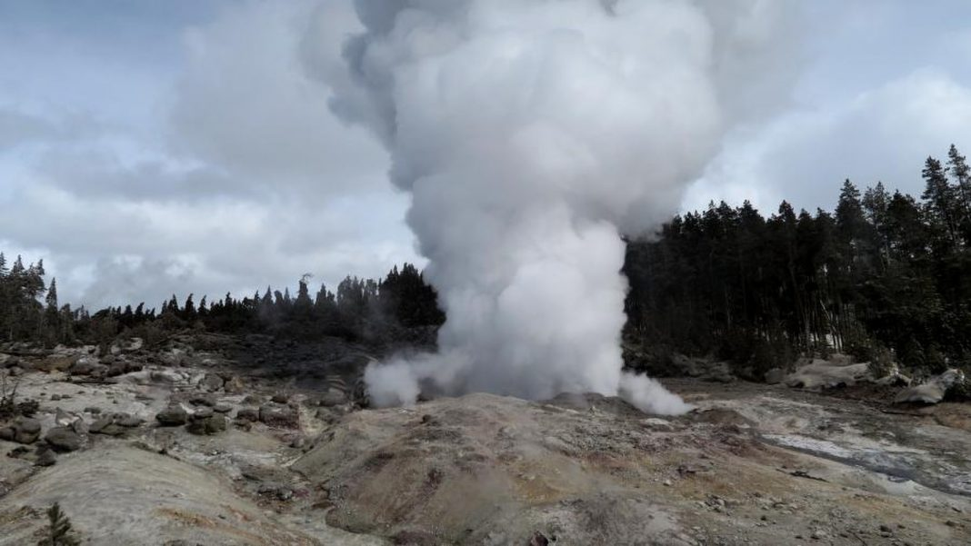 Yellowstone's Steamboat Geyser Is Exceptionally Active Today, and We Do Not Know Why