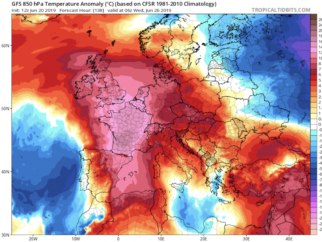 'Hell is coming': Western Europe faces its most popular weather condition given that a 2003 heat wave eliminated 15,000 individuals in France