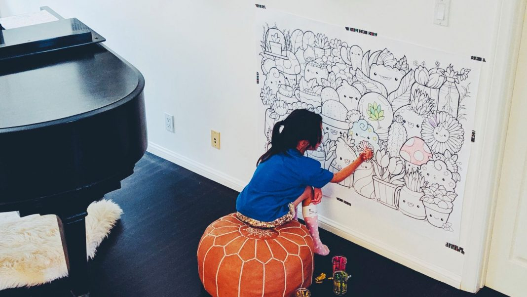 How to Develop a Huge Coloring Page for Your Kid