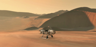 NASA is Returning to Saturn's Moon Titan, this Time With a Nuclear Battery-Powered Quadcopter