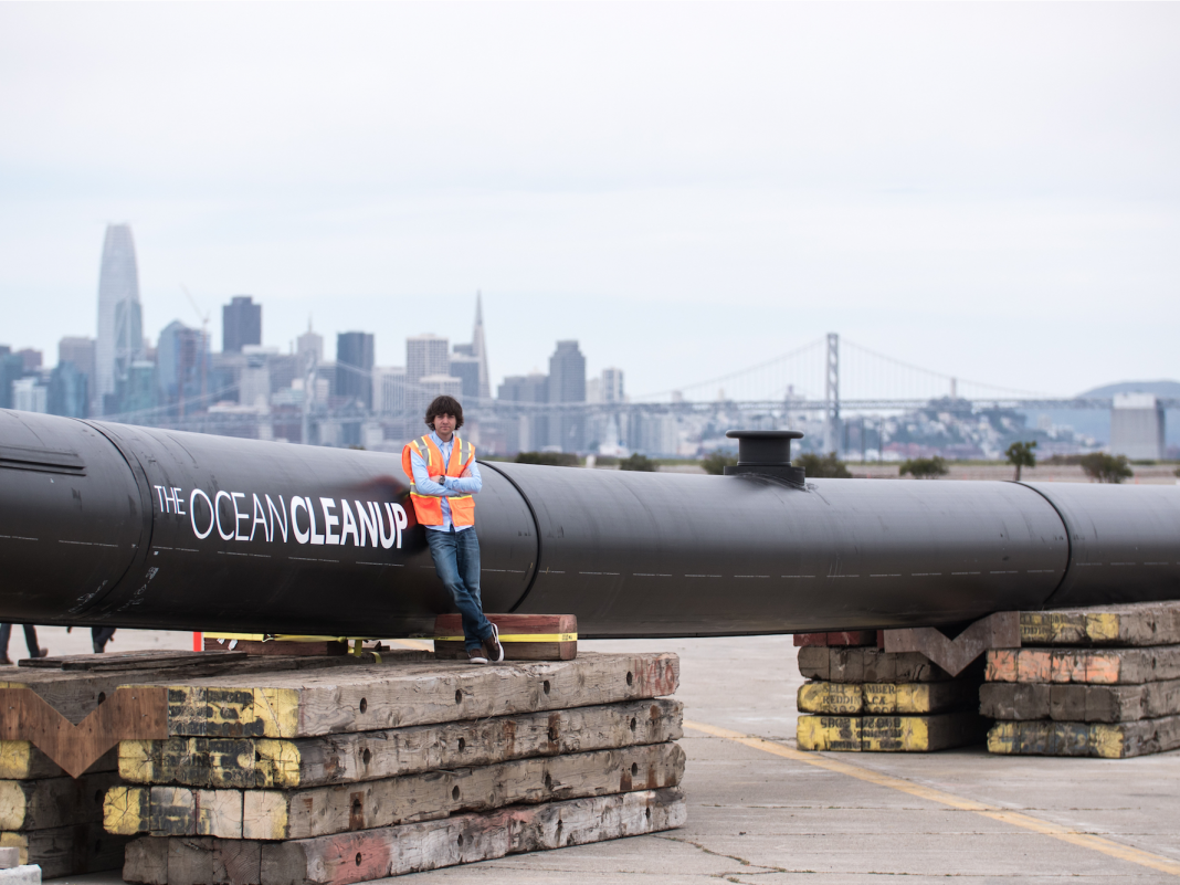 A brand-new variation of the enormous plastic clean-up gadget developed by a 24- year-old is going back to the Great Pacific Trash Spot