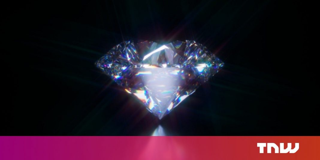 Researchers teleported quantum information into the problematic heart of a diamond