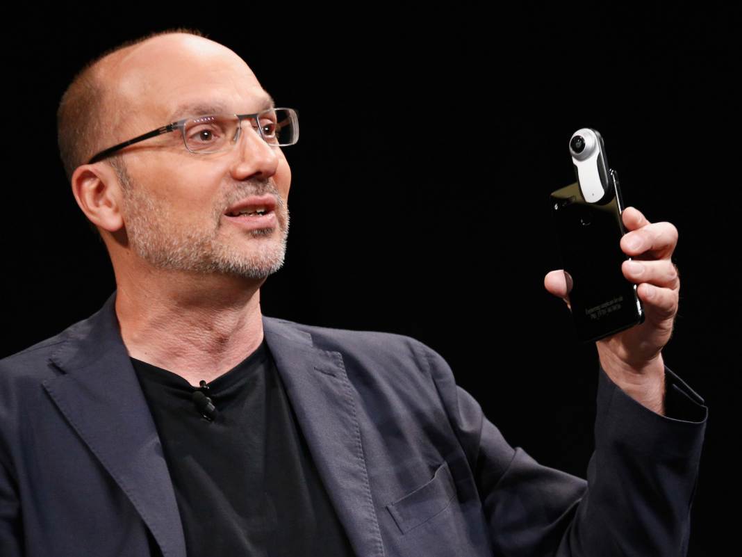 Android developer Andy Rubin is implicated of running a 'sex ring' (GOOG, GOOGL)