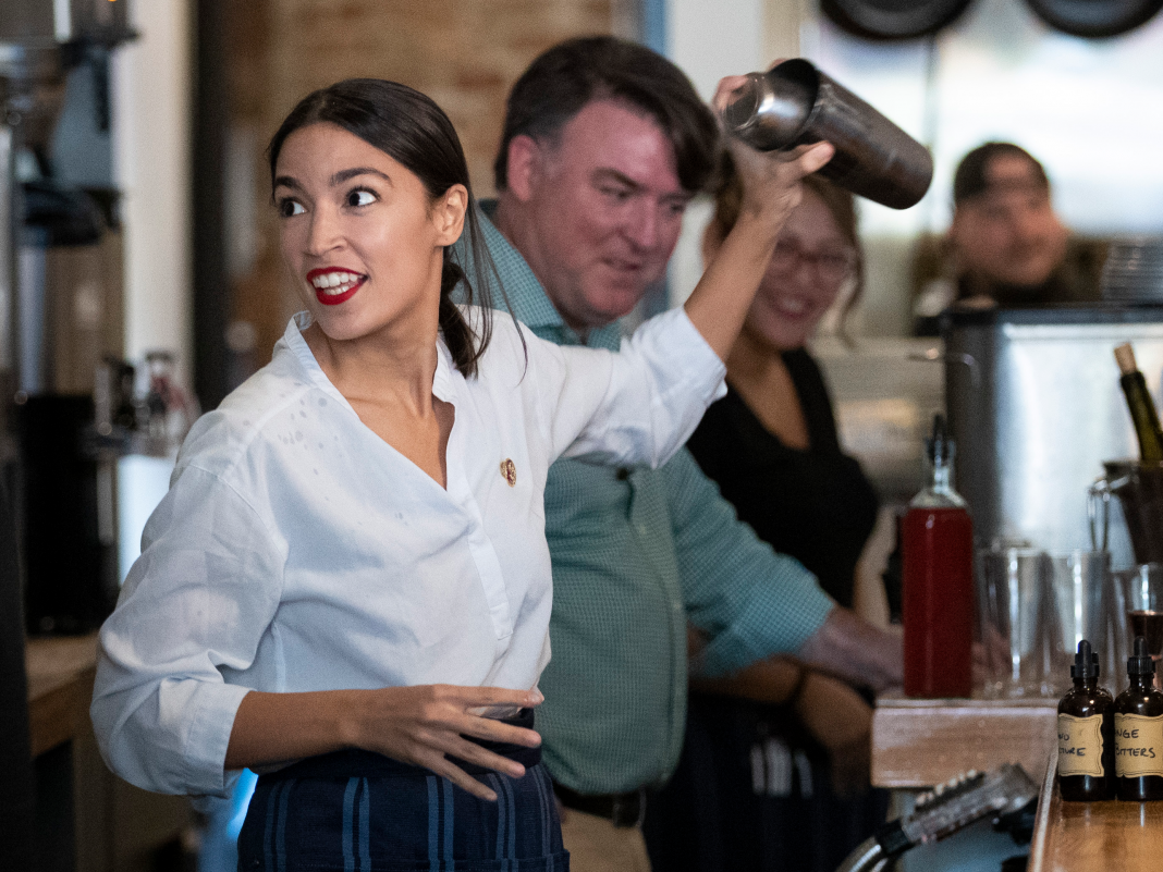 Here are 5 mental factors Alexandria Ocasio-Cortez's bartender past gets raised once again and once again