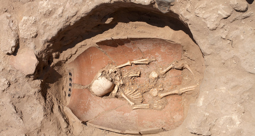 Ancient DNA exposes the origins of the Philistines