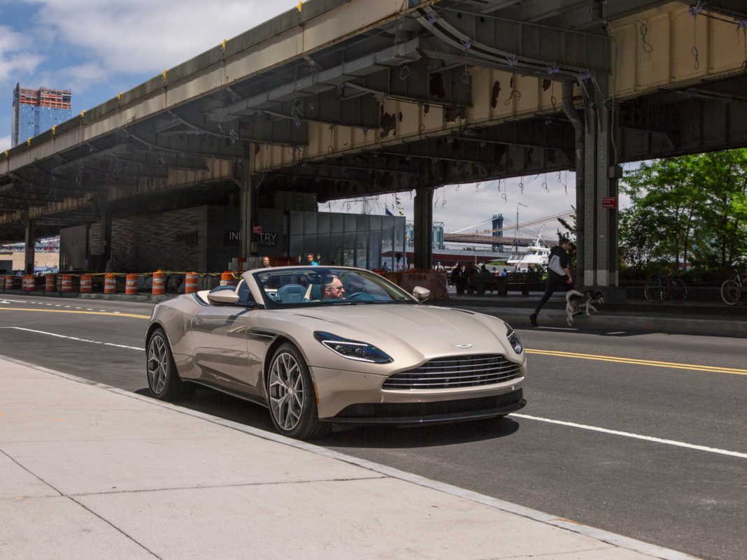 We drove a trendy $273,244 Aston Martin DB11 Volante convertible to see if it deserves the enormous cost– here's the decision