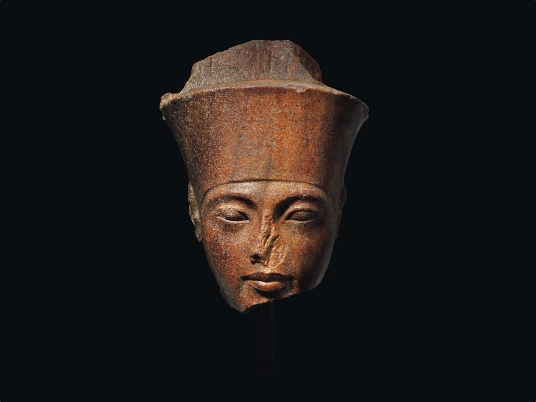 King Tut Sculpture with Sketchy Origins Sells at Christie's for Almost $6 Million