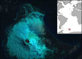 Rare Lake of Bubbling Lava Discovered on Remote Antarctic Island