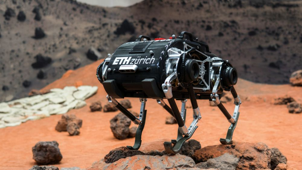 The ESA's SpaceBok Robotic Will Hop Its Method Around Low-Gravity Worlds