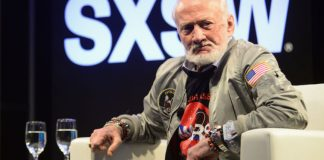 Buzz Aldrin is looking forward, not back– and he has a strategy to bring NASA along