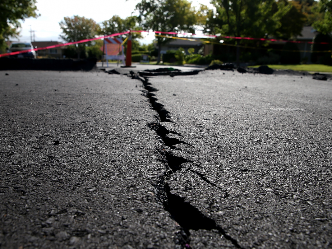 California's current earthquakes were a surprise to citizens, however an app that cautions of quakes as much as 90 seconds ahead of time might one day conserve many lives