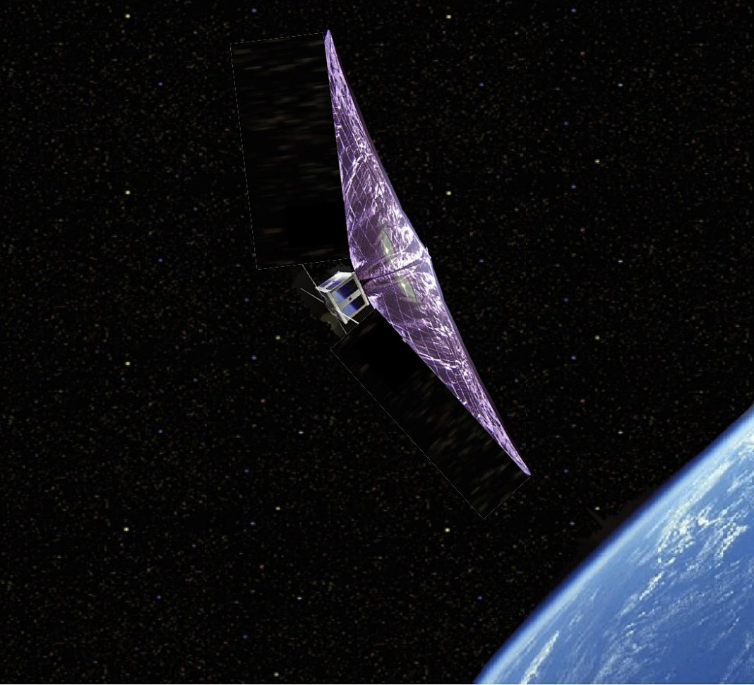 Can We Utilize Unique Sails To Bring Old Satellites Pull Back To Earth?