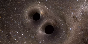 Astronomers find 2 supermassive great voids in a death spiral