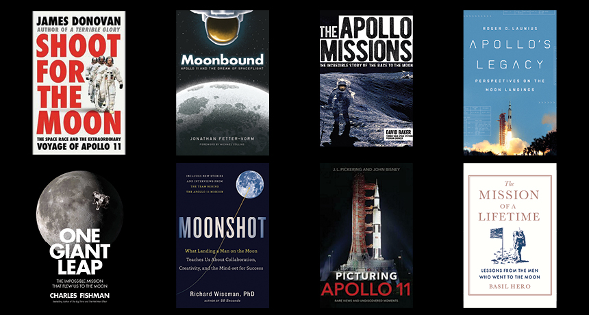 Commemorate the moon landing anniversary with books that surpass the little action