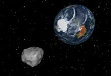 Do not look now, however a large asteroid simply buzzed our planet