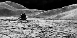 Apollo astronauts left garbage, keepsakes and experiments on the moon