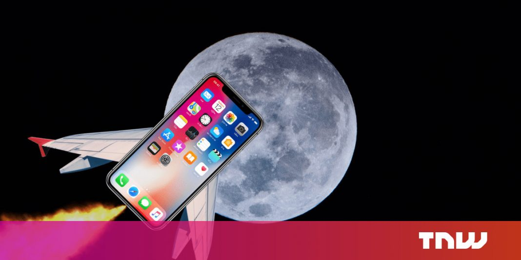 Would your smart phone be effective sufficient to get you to the moon?