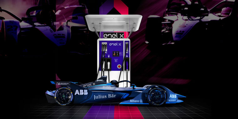 Formula E racing tech will enhance the battery charger for your electrical cars and truck