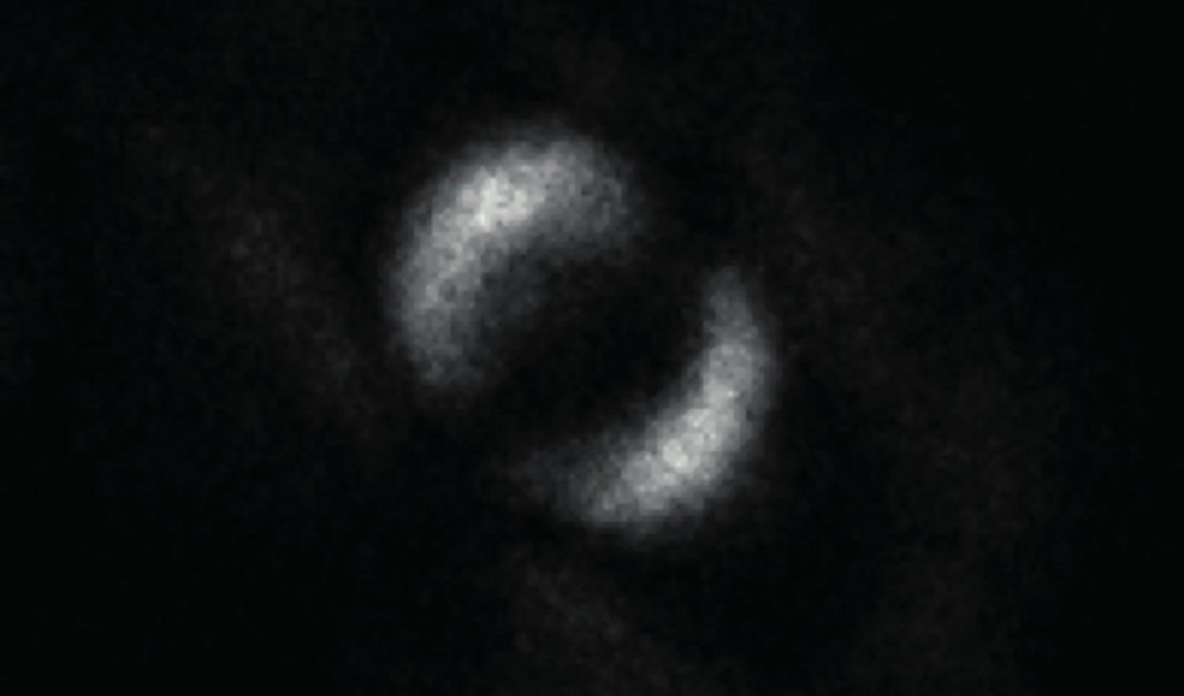 Very First Picture Of Quantum Entanglement
