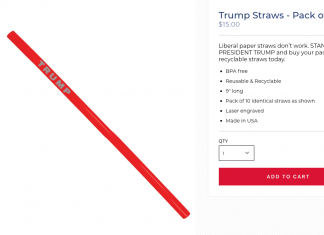 Trump's project takes a swipe at 'liberal paper straws' and offers Trump straws for $15