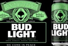 Bud Light: Free beer for any alien that gets away Location 51