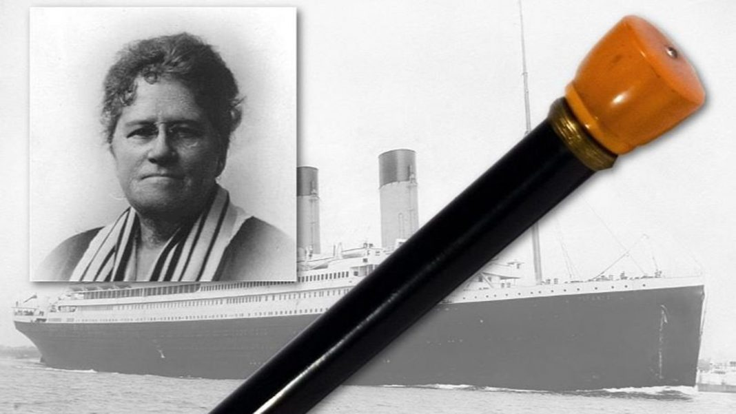 Lifeboat of Titanic Survivors Were Directed by One Lady's 'Flashlight' Walking Cane