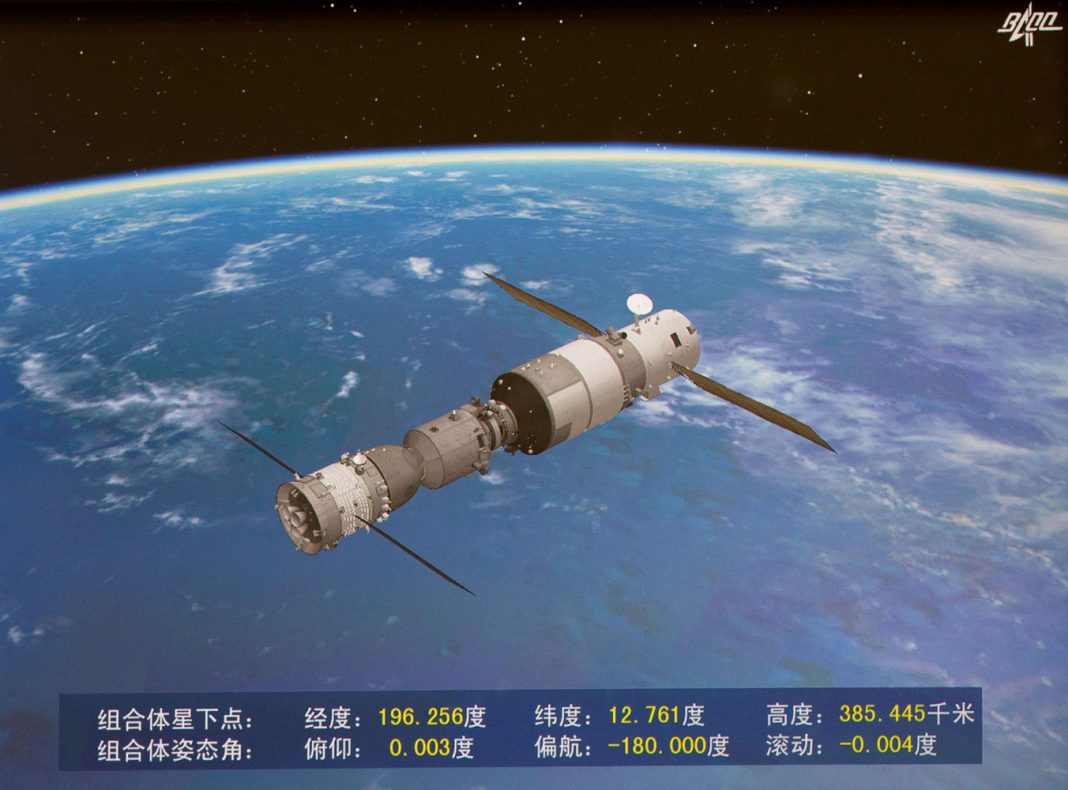Chinese Spaceport Station Tiangong-2 Ruined in Intense Re-Entry Over Pacific Ocean