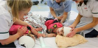 Conjoined Twins Merged at the Head Now Separated After More Than 50 Hours of Surgical Treatment