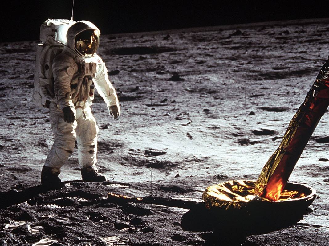 On the 50 th anniversary of the moon landing, the Google Doodle honors the Apollo 11 objective with an animated video of the journey