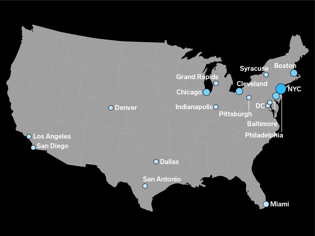 An unexpected variety of NASA Astronauts originate from Ohio, the 'birth place of air travel.' Here are all the United States cities that produce the most astronauts.