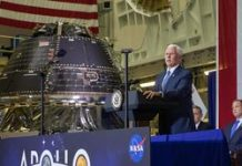 NASA unveils spacecraft that may take first girl to the moon
