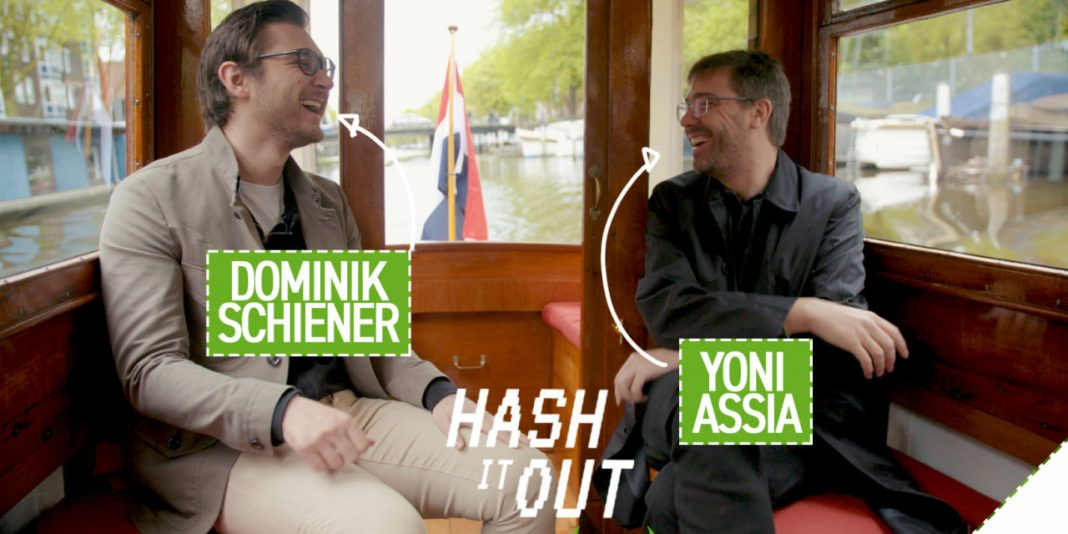 View the very first episode of 'Hash It Out' with eToro's Yoni Assia and IOTA's Dominik Schiener